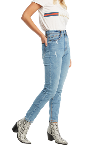 SIENNA SUPER HIGH JEAN in colour TRUE NAVY 6c8245b7b