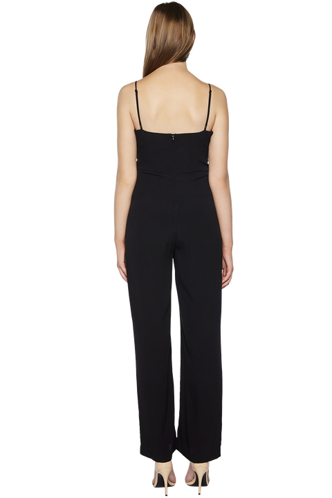 AMY JUMPSUIT in colour CAVIAR