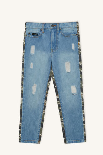 DENIM CAMO PANT in colour CITADEL