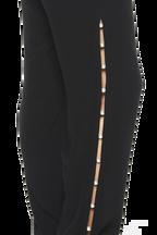 PEARL TRIM PANT in colour CAVIAR