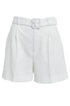 PARISIENNE SHORT in colour CLOUD DANCER