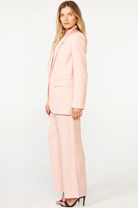 RELAXED BLAZER in colour PALE BLUSH