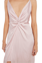 ORA TWISTED MAXI DRESS in colour LOTUS