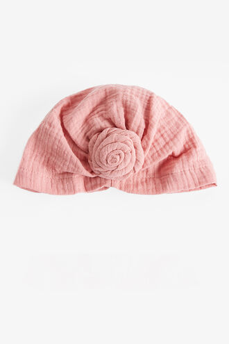 PEGGY HEAD WRAP in colour PINK CARNATION