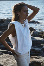 UMA TOP in colour BRIGHT WHITE