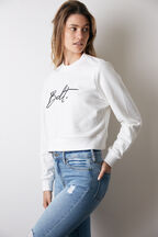 BDT SWEATER in colour BRIGHT WHITE
