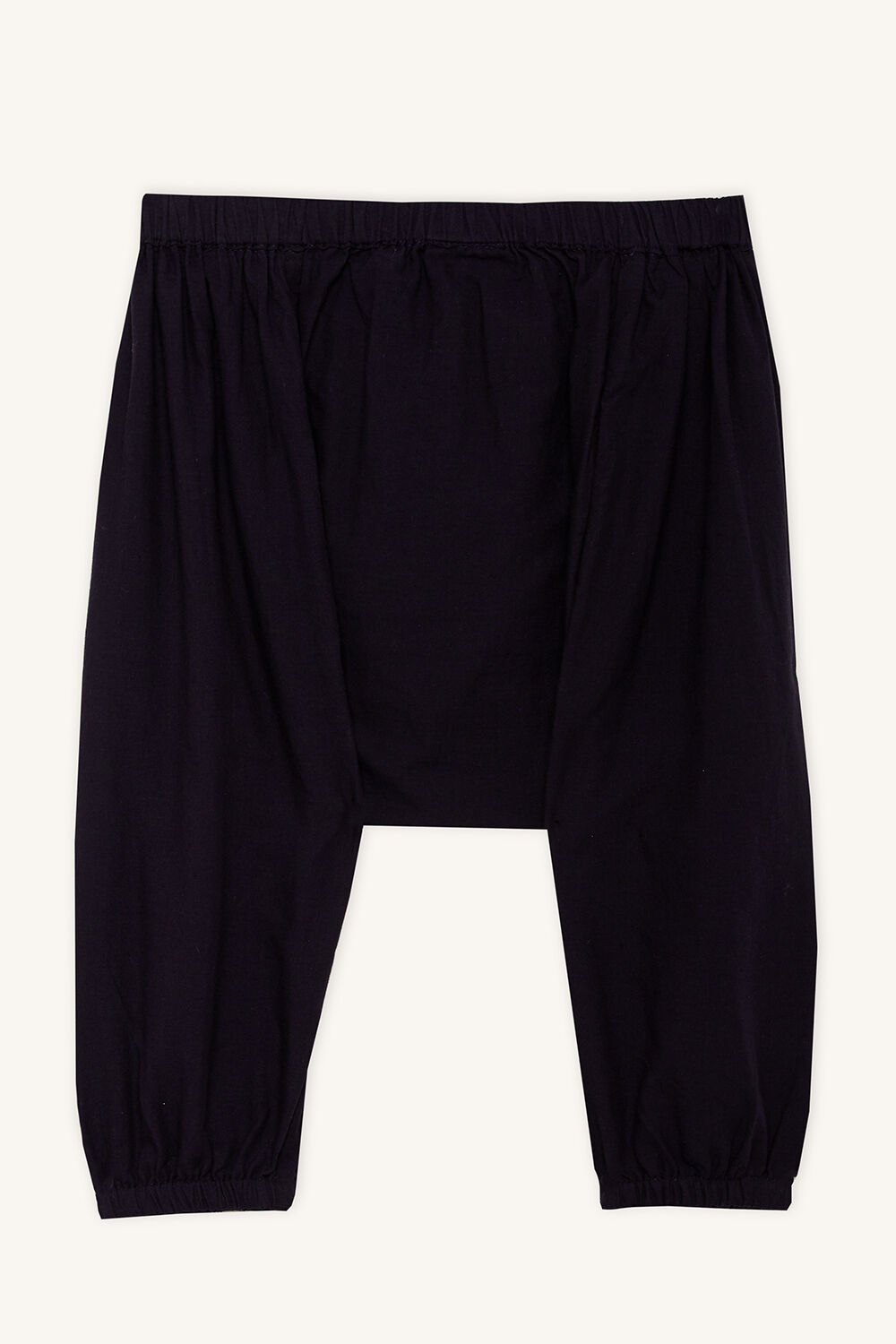 EDEN HAREM PANT in colour PEACOAT