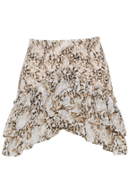 TIHANE MINI SKIRT in colour WHITE SWAN