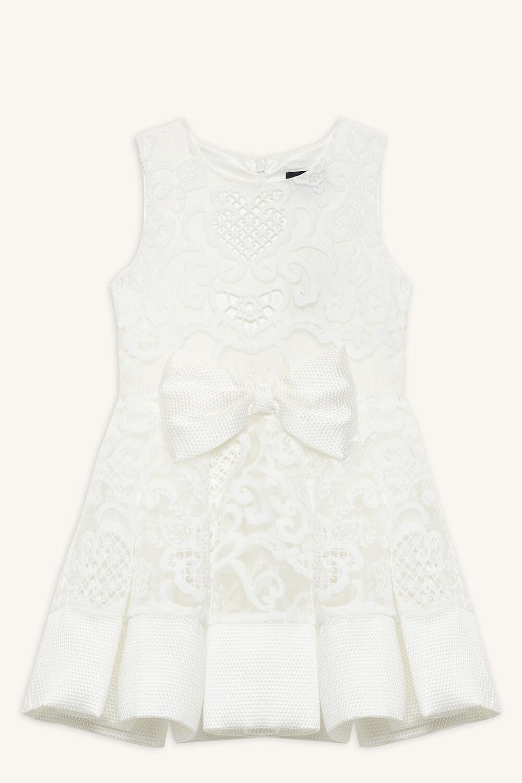 AVA STARLET DRESS in colour SNOW WHITE