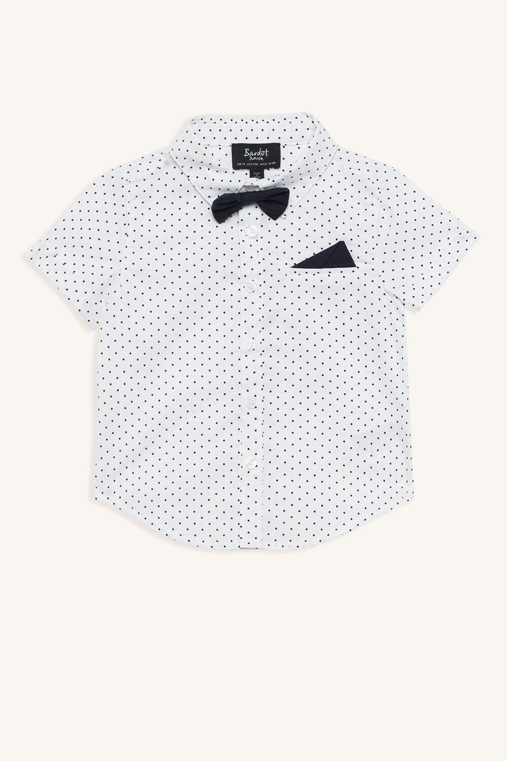 SPOT SHIRT in colour BRIGHT WHITE