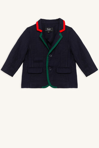LONDON BLAZER in colour DRESS BLUES