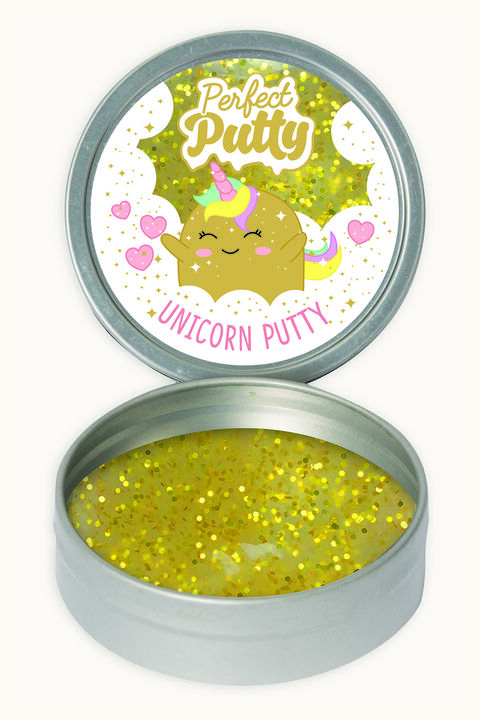 UNICORN PUTTY in colour GOLD EARTH