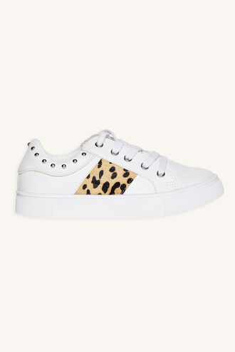 LEO SNEAKER in colour WHITE ALYSSUM