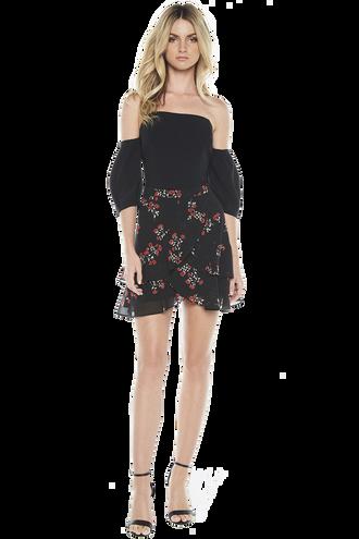 AURORA BUSTIER in colour CAVIAR
