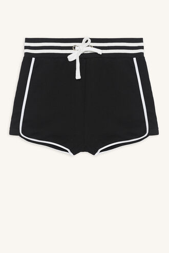 KELLI SPORTS SHORT in colour JET BLACK