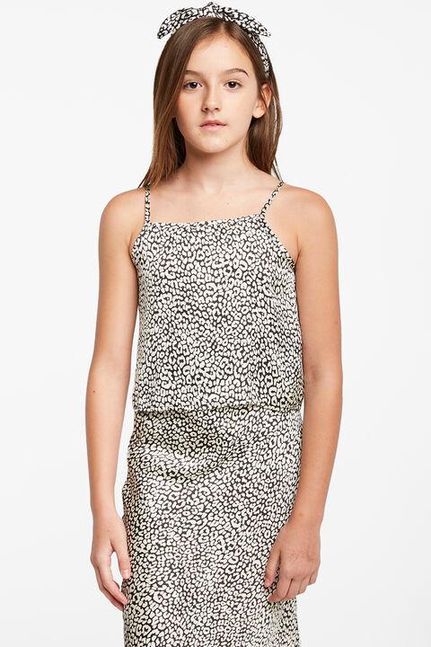 TWEEN GIRL GRETTA CAMI in colour BRIGHT WHITE