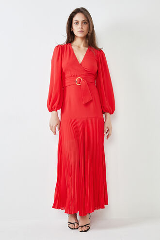 DAYTONA DRESS in colour HIGH RISK RED