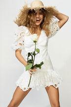Margot Dress in colour BRIGHT WHITE