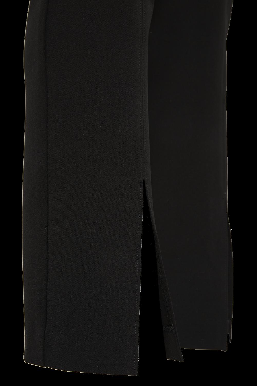 JOHANA SPLIT PANT in colour CAVIAR