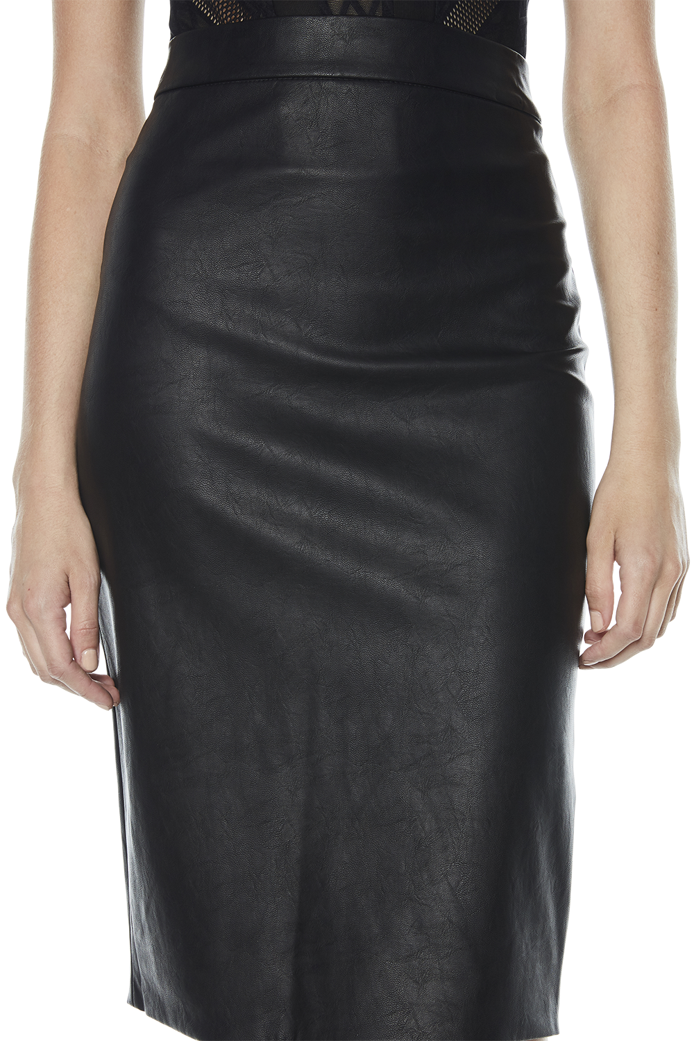 DONNA TUBE SKIRT in colour CAVIAR