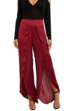 KAYLAH PETAL PANT in colour DRY ROSE