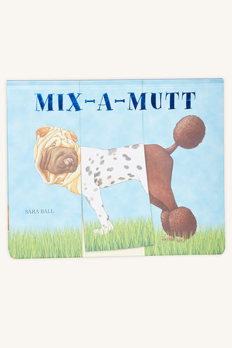 MIX A MUTT in colour BRIGHT WHITE