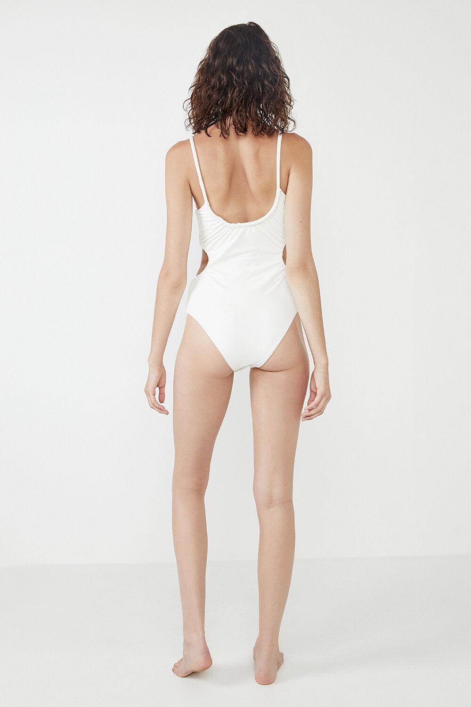 THE GRECIAN BODYSUIT in colour BRIGHT WHITE
