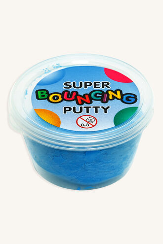 SUPER BOUNCING PUTTY in colour BRIGHT WHITE
