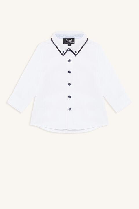ATLANTIC SHIRT in colour BRIGHT WHITE