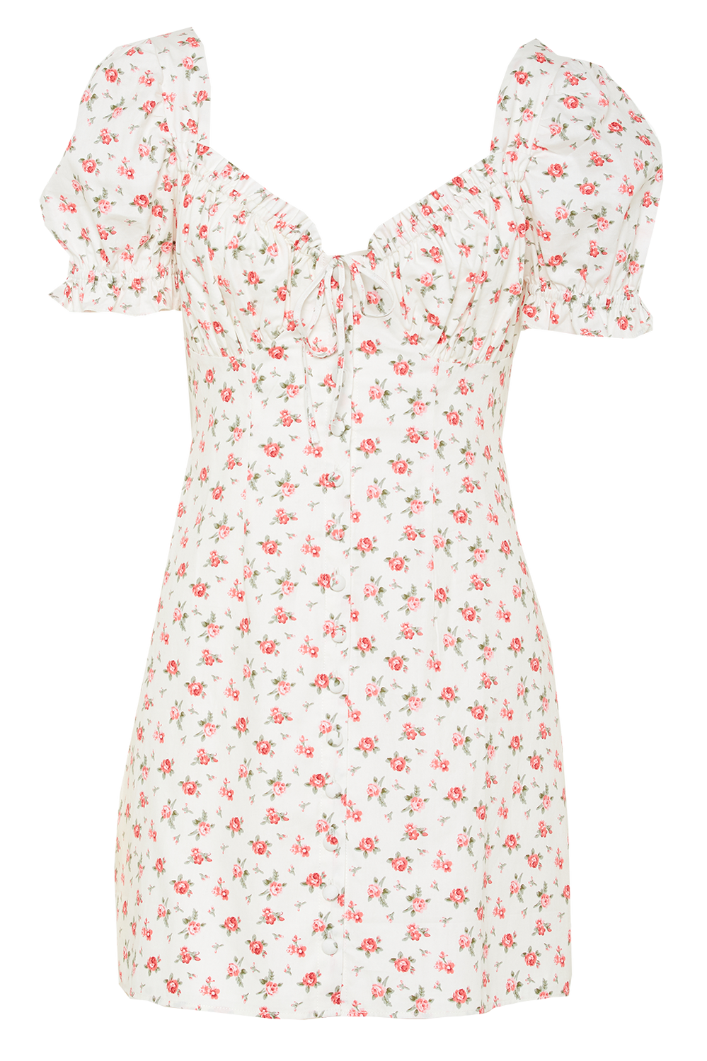 LUCINTA MINI DRESS in colour STAR WHITE