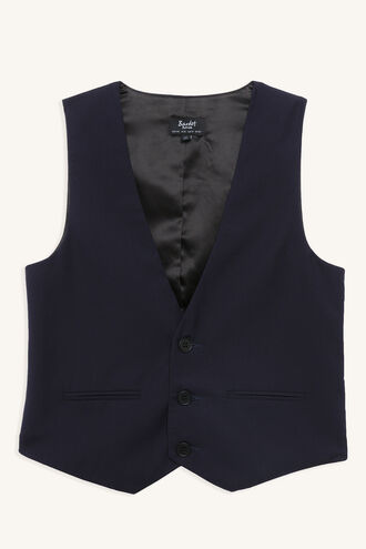 HARRY SUIT VEST in colour DRESS BLUES