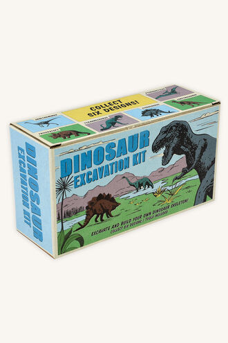 DINOSAUR EXCAVATION KIT in colour BRIGHT WHITE
