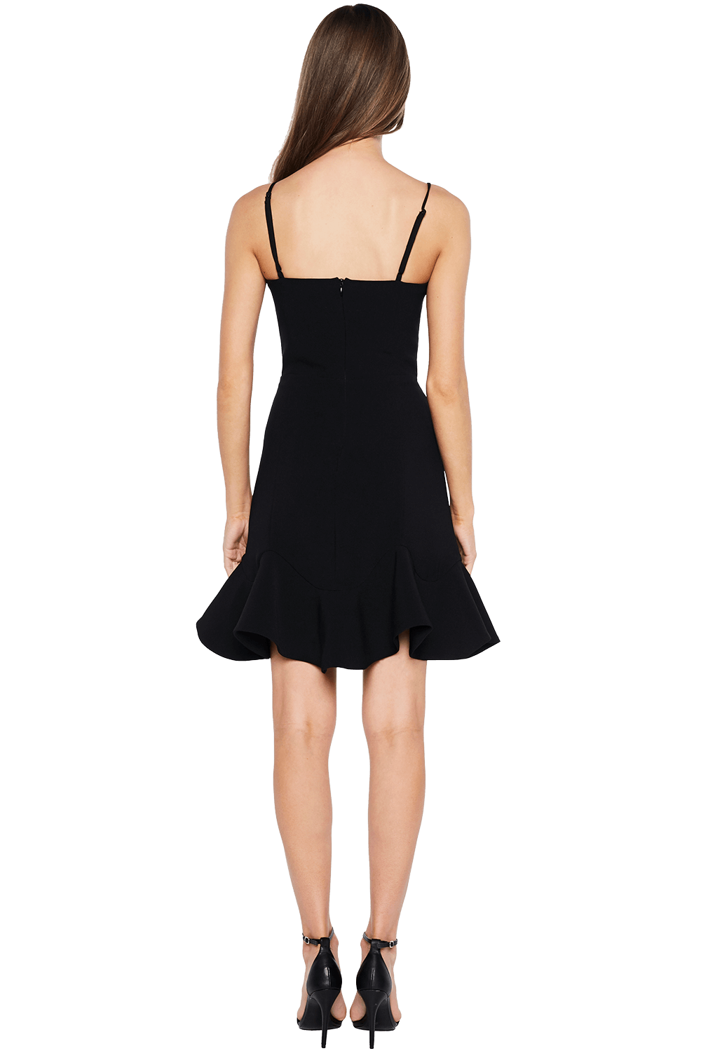LAURIE MINI DRESS in colour CAVIAR