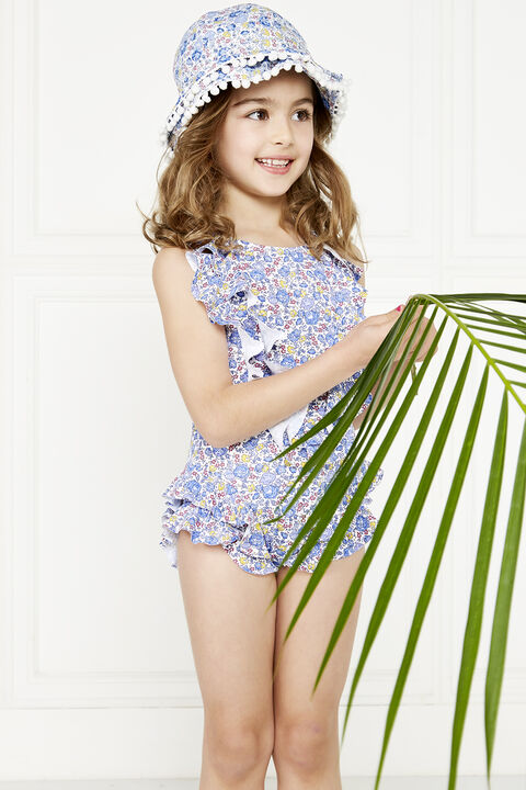 ADELINE ONE PIECE in colour BLUE BONNET