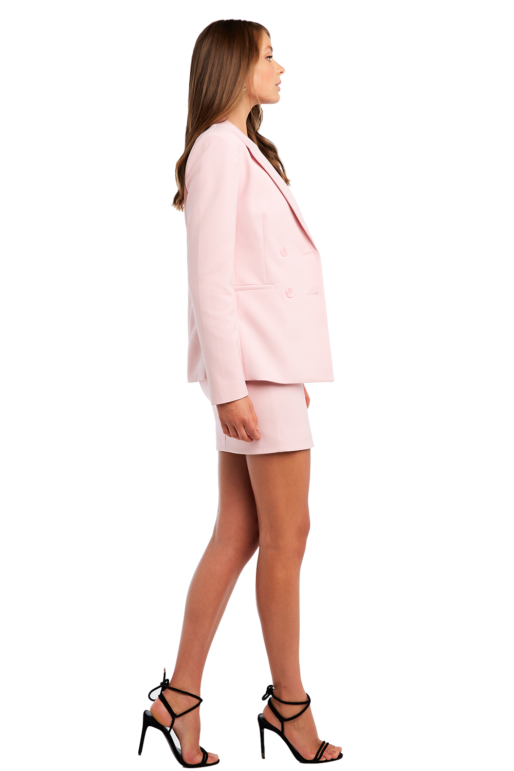 ROMY BLAZER in colour CAMEO PINK
