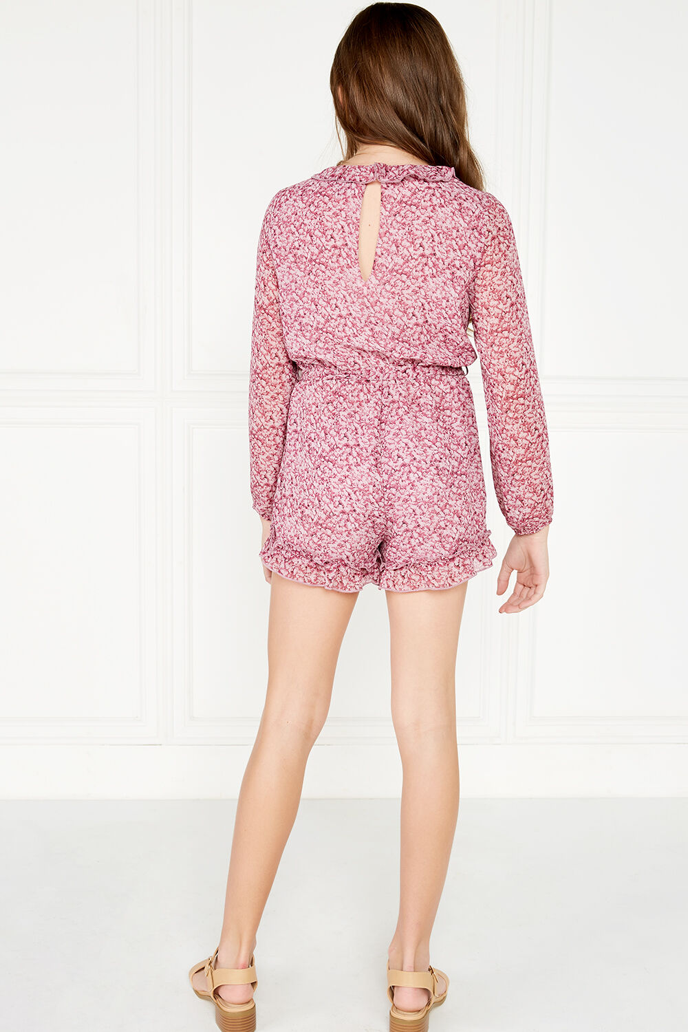 PETUNIA PLAYSUIT in colour WILD ORCHID