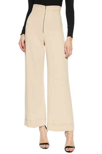 STEF WIDE LEG PANT in colour MOONLIGHT
