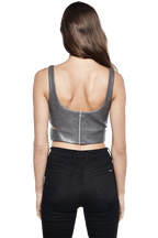 HARNESS BUSTIER in colour FROST GRAY