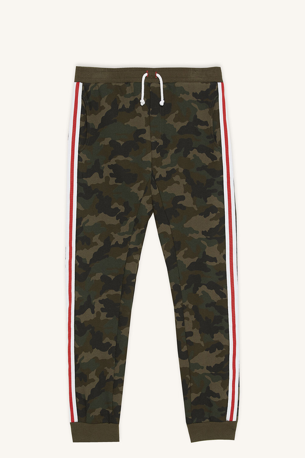MINIMAL EFFORT TRACKY PANT in colour BURNT OLIVE