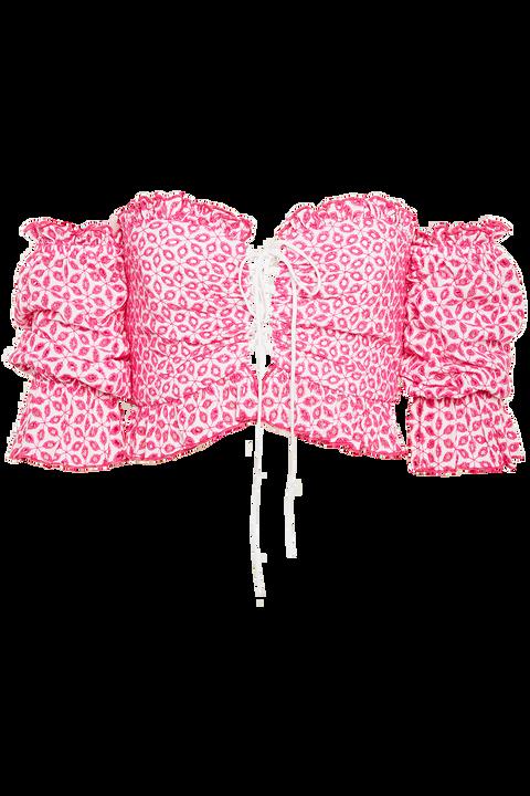 ORELLA TOP in colour SHOCKING PINK