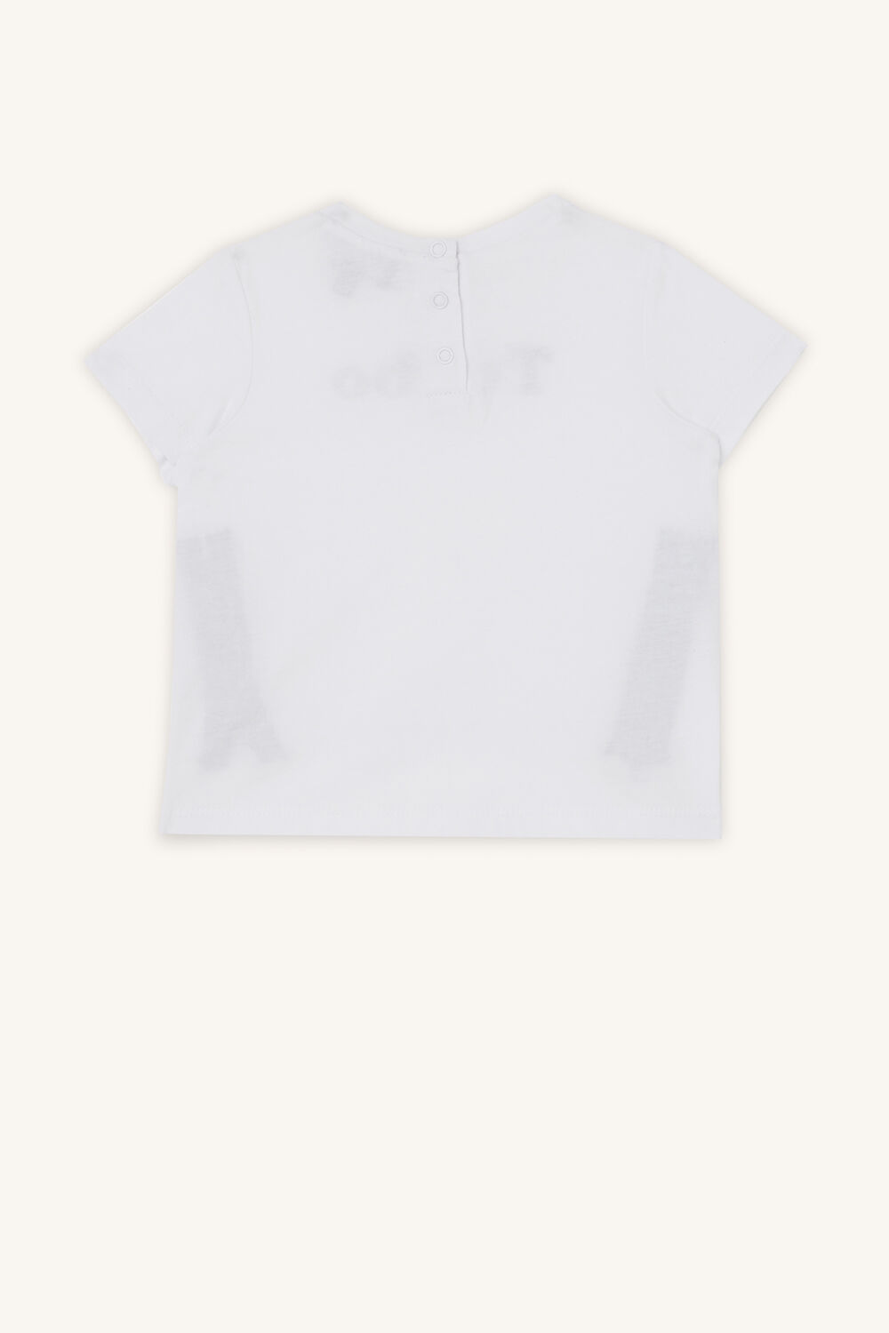 TURBO TEE in colour BRIGHT WHITE
