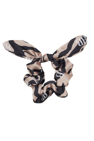 BARDOT LOGO SCRUNCHIE in colour ANTELOPE