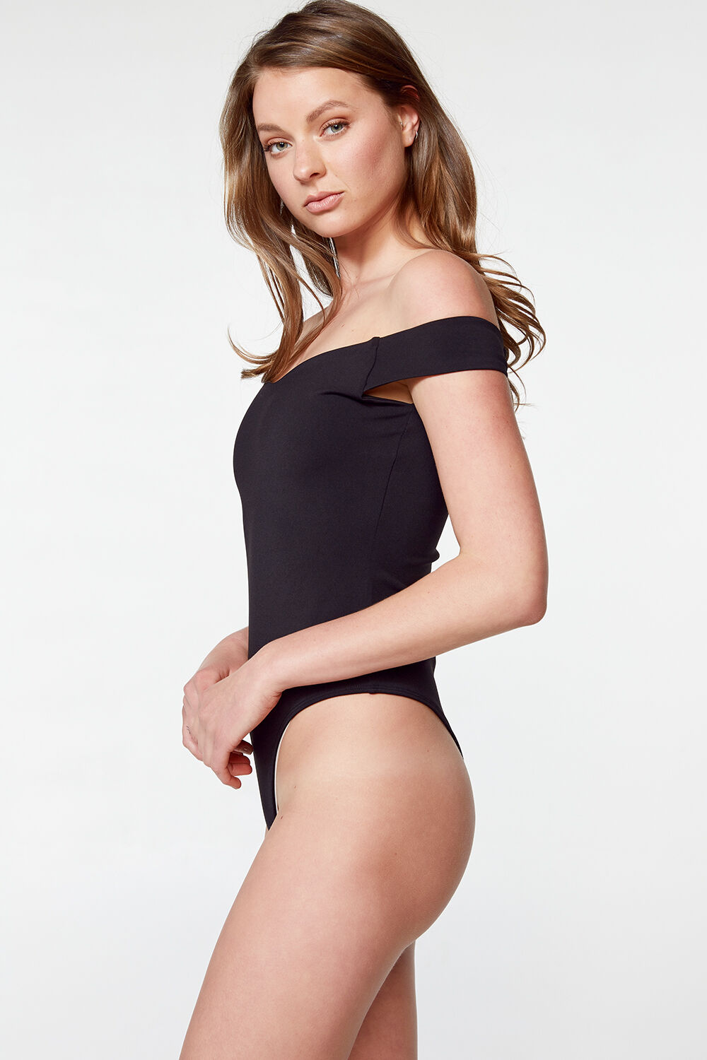 POPPY ARM-BAND BODY in colour CAVIAR
