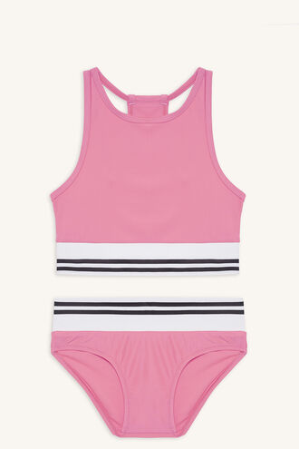 ZARA TWO PIECE BIKINI in colour AZALEA PINK