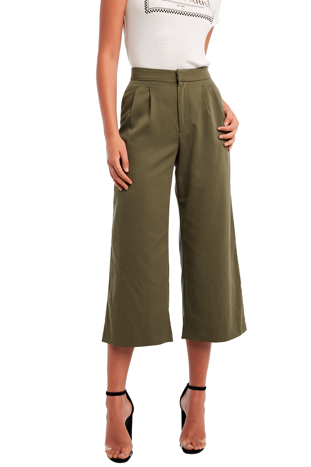 JENNA PANT in colour OLIVE NIGHT