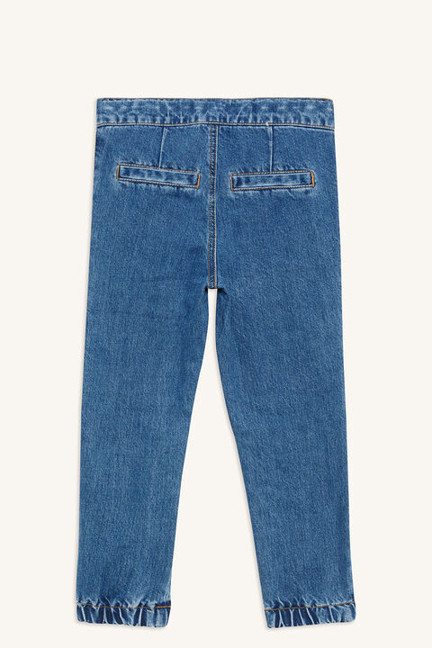 TEGAN ZIP JEAN in colour CITADEL