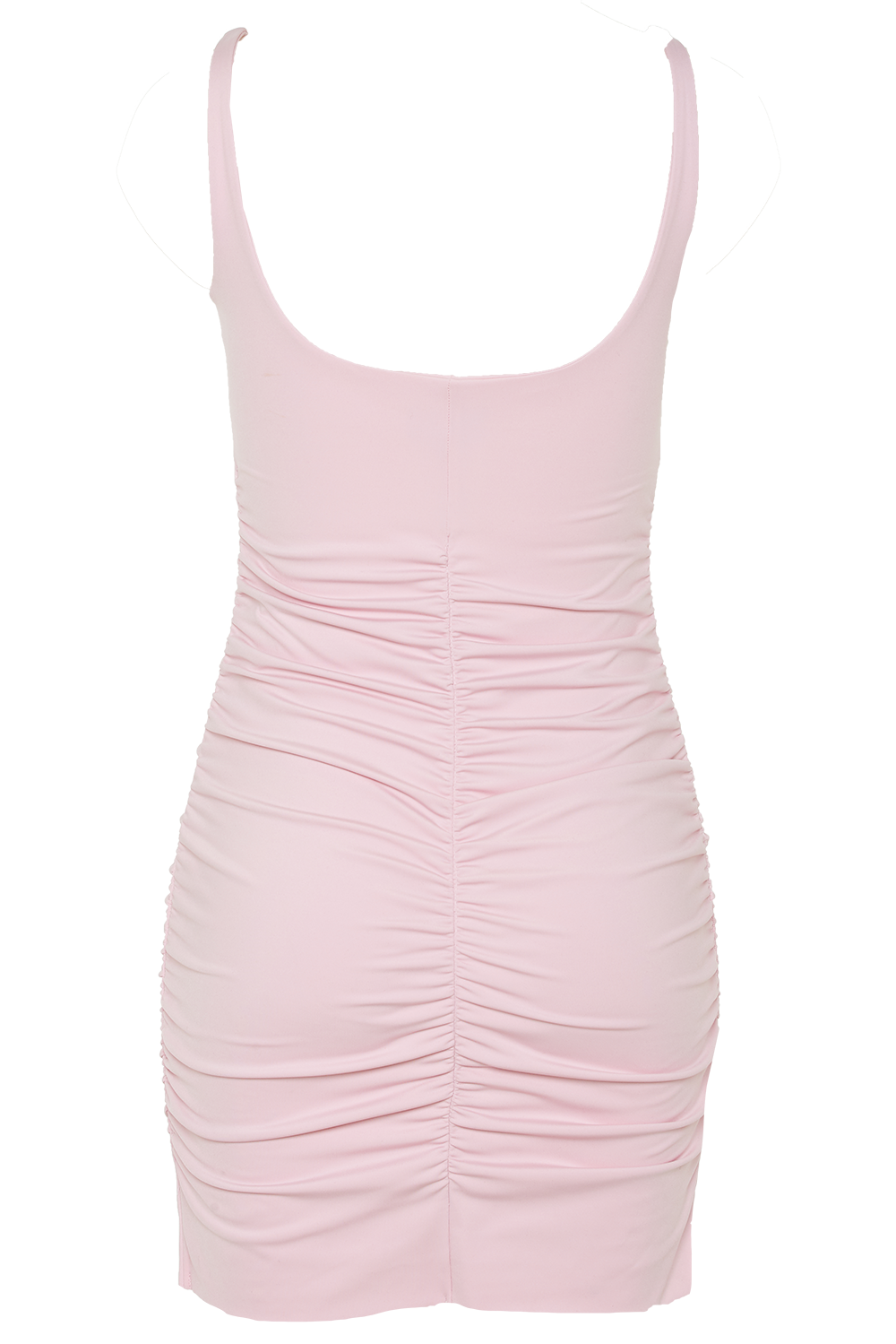 KARIN DRESS in colour BARELY PINK
