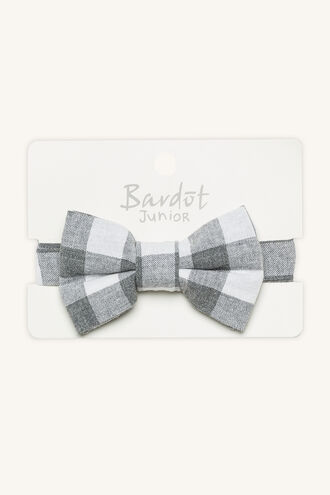 JAYDEN BOW TIE in colour LIGHT GRAY