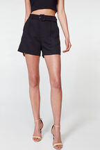 PARISIENNE SHORT in colour CAVIAR
