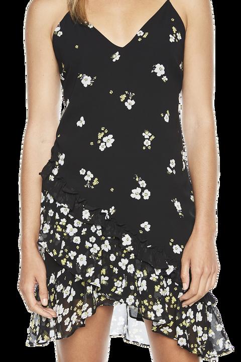 DITSY DRESS in colour CAVIAR